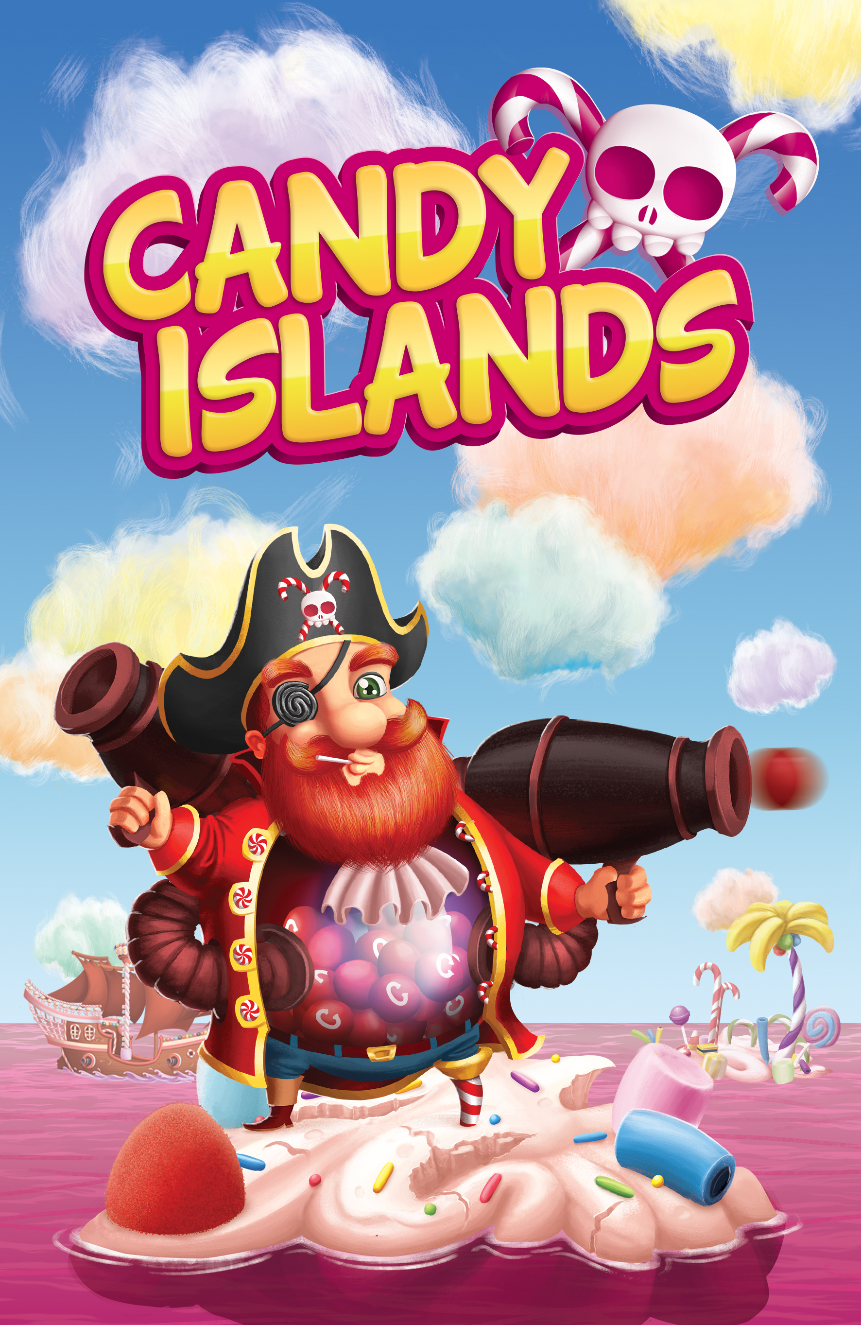 [WIP] Illustrations de Candy Islands (Guru Fabric)
